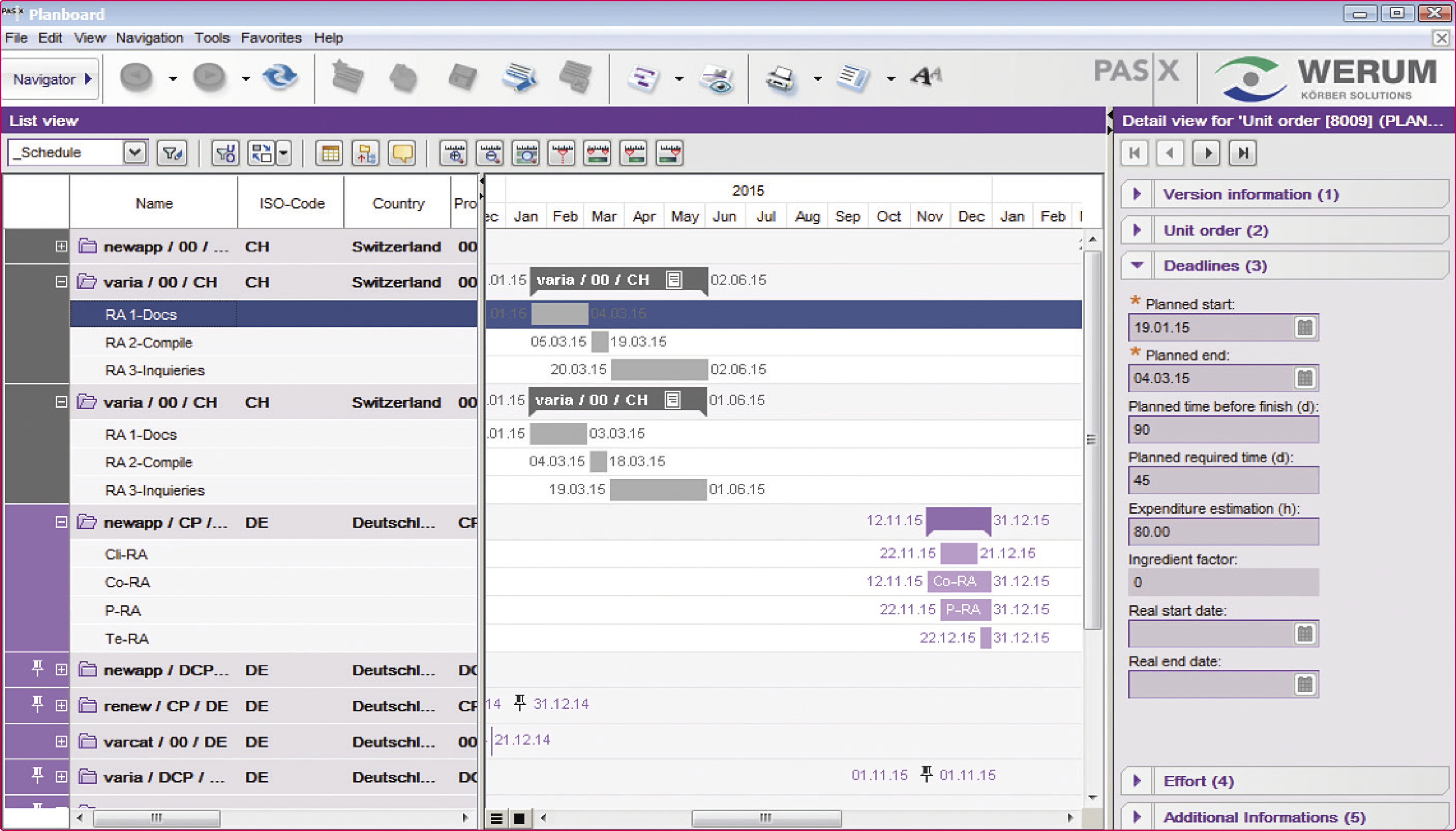 Rimanager Regulatory Planning And Tracking Software Extedo